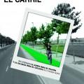 Cartel Bicifestación Recicla el carril de la Ronda Nord.