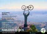 Cartel Hablemos de Bicis de marzo del 2017