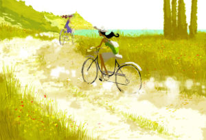 "Ilustrador: Pascal Campion ""Dirt roads down south"""