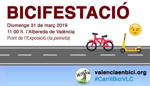 Bicifestación 31 de marzo de 2019